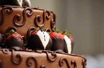 Wedding Cake - Chocolate