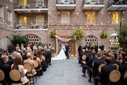 New Orleans Courtyard Weddings At The Maison Dupuy Hotel