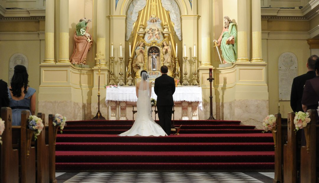 Matthew and Huyen wed at the gorgeous, historic St. Louis Cathedral